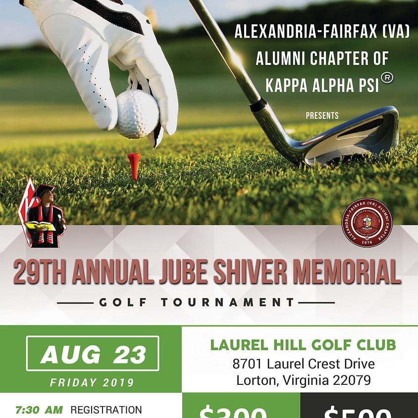 29th Jube Shiver Golf Tournament