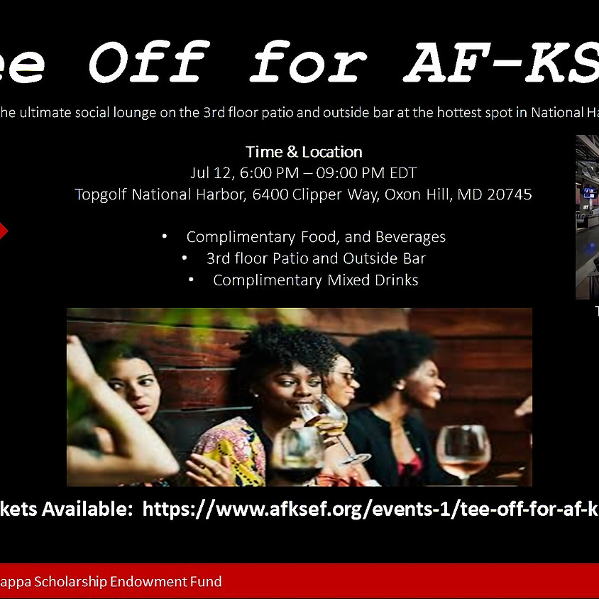 Tee Off for AF-KSEF