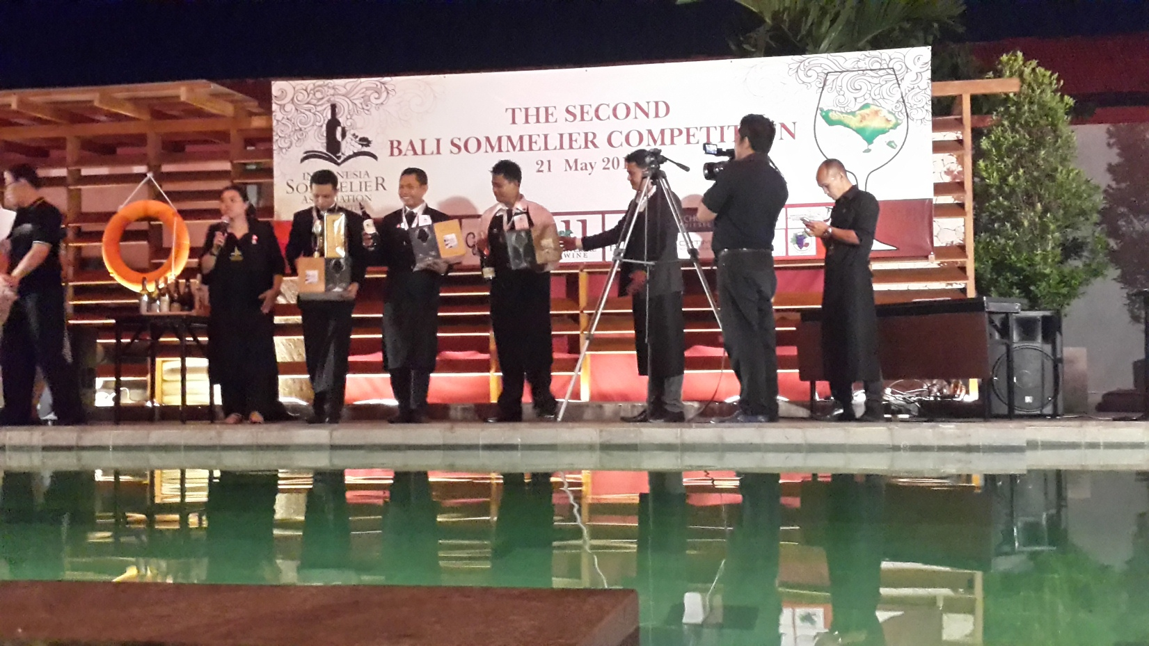 Sommelier Competition Bali 2015