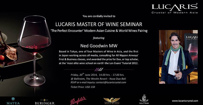 Lucaris Master of Wine Seminar