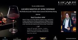 Lucaris Master of Wine Seminar