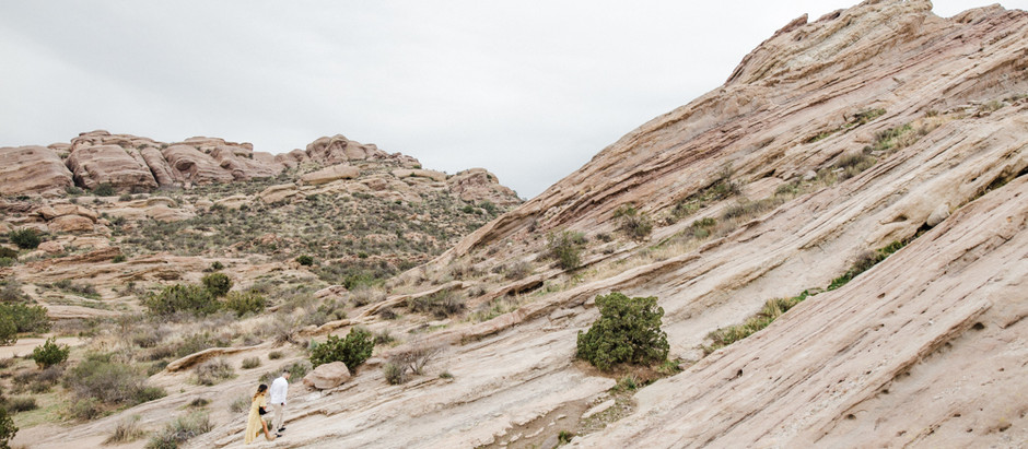 Dominique + Zach | Vasquez Rocks Adventure