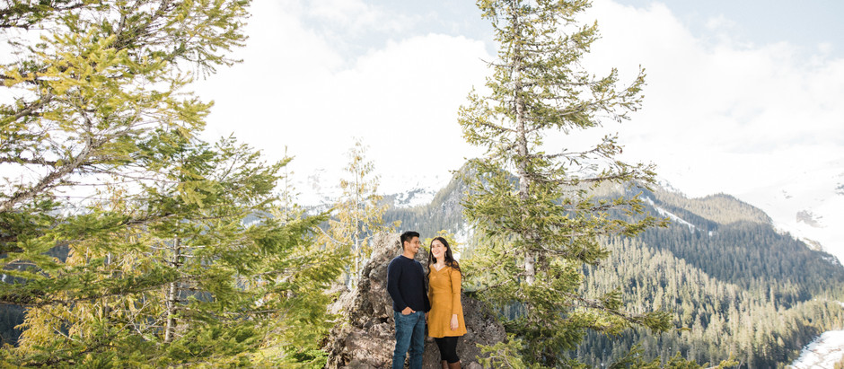 Kayla & Jessie | Engagement at Mount Rainier National Park
