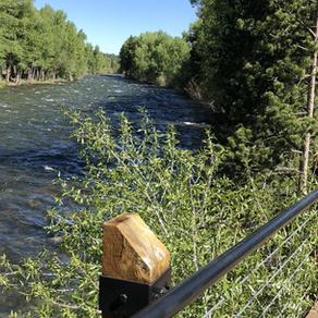 Lake Dillon Colorado's Blue River
