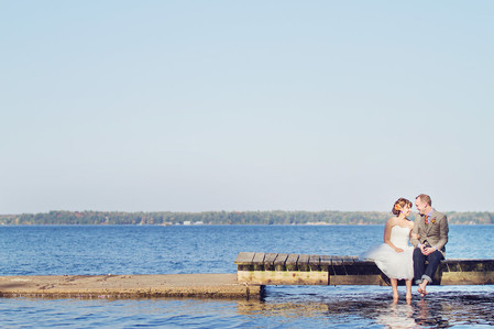 Lisa & Phil's Muskoka Wedding