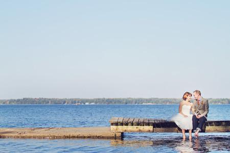 Lisa & Phil's Muskoka Wedding