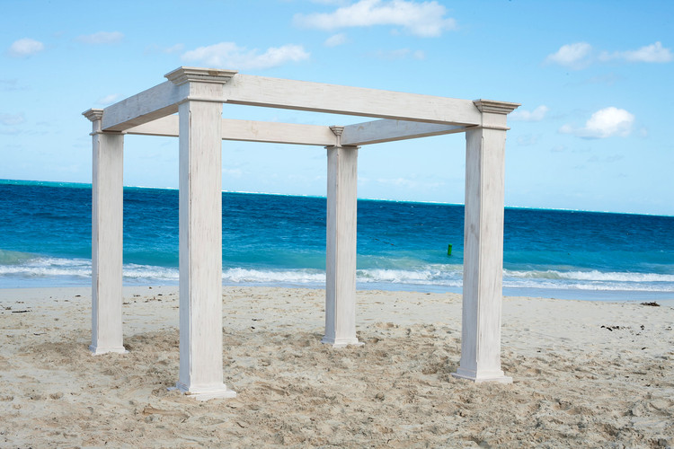 turks and caicos wedding furniture