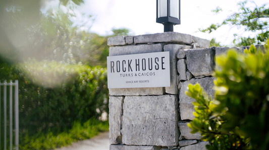 Resort Web Design for Rock House