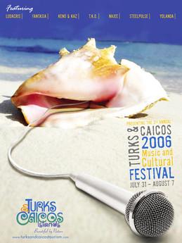 Tourist Board Turks and Caicos web design