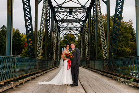 Candice & Kyle's Muskoka Wedding