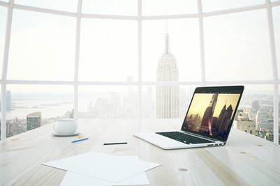 Media consultant website design