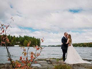 Muskoka Weddings: Alexandra and Chris Priest