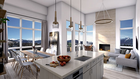dillon-colorado-condos-Living Room Unit