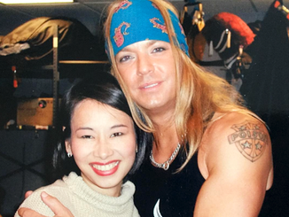 Melissa Lonner and Bret Michaels