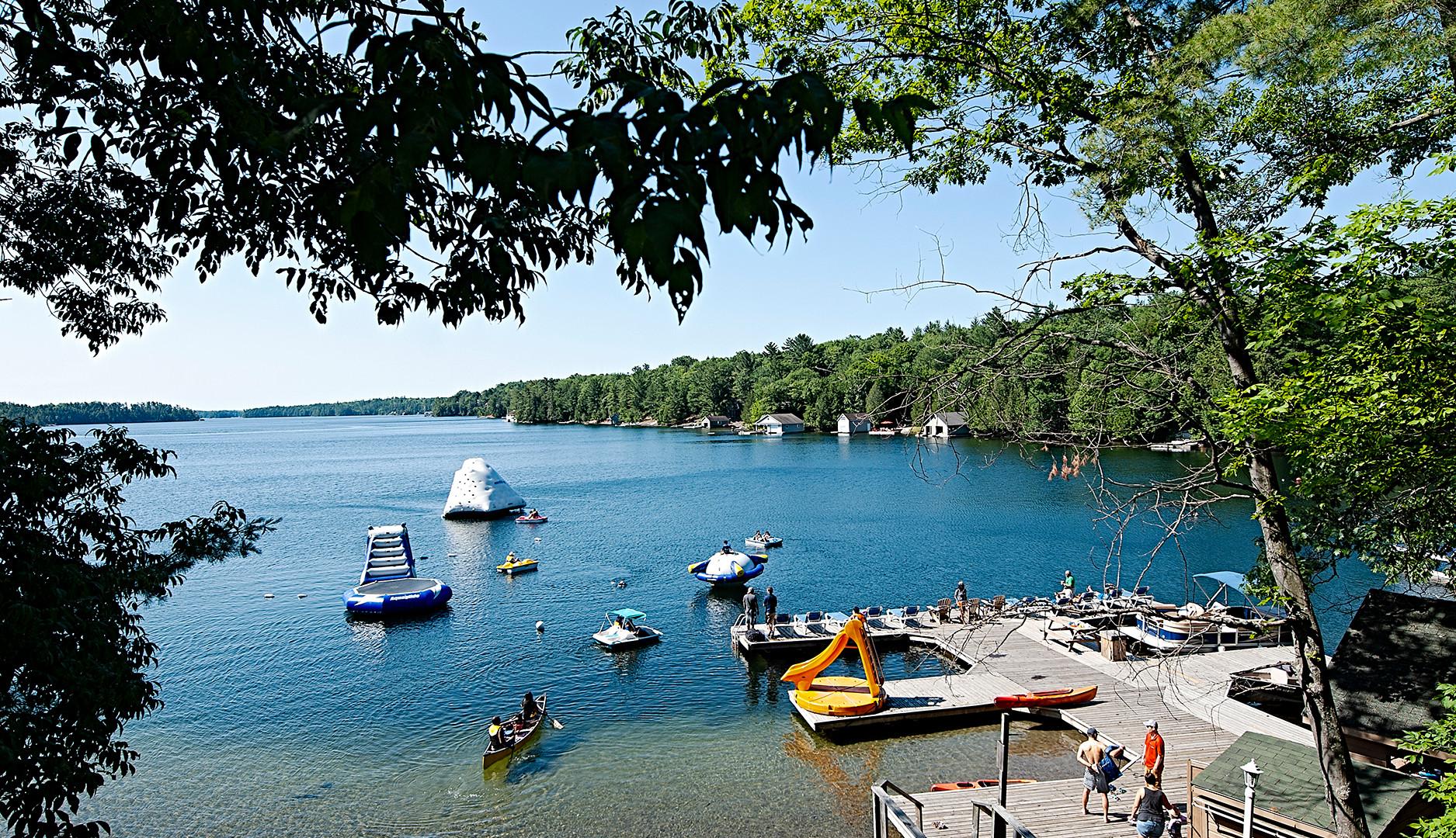 Lake Joseph Waterfront