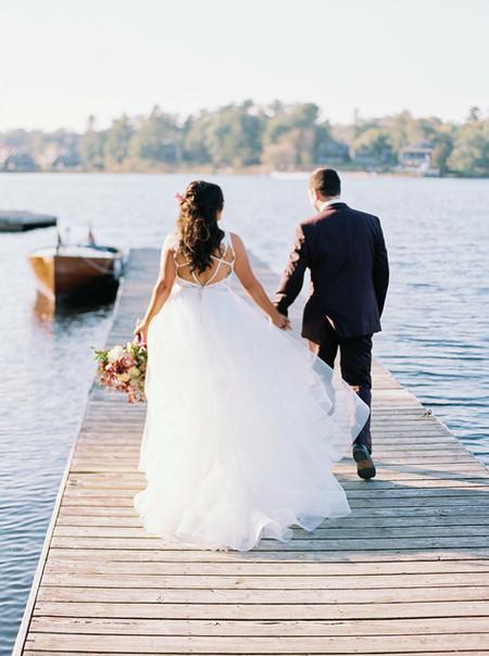 Britt and Brad's Fabulous Muskoka Wedding at Bayview Wildwood Resort in Ontario