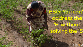 ESG: You can't address the 'E' without solving the 'S'