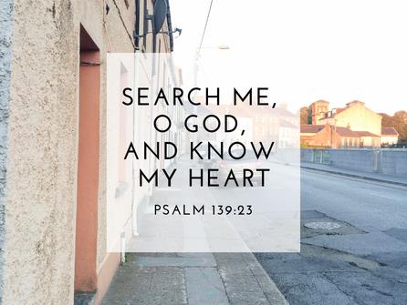 Prayers No. 2 | Search Me, O God