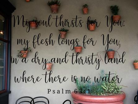 Jesus I am resting | Psalm 63:1 Series