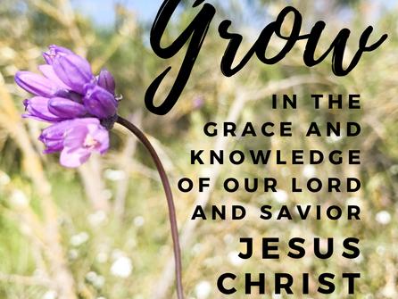 A Call to Spiritual Growth