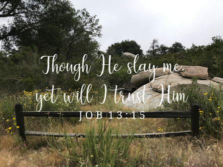 He is all we need | Psalm 63:1 Series