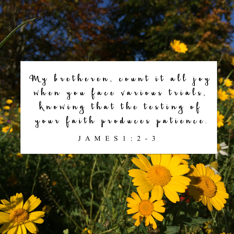 Bailey Cornell | A Cold East Wind | James 1:2-3