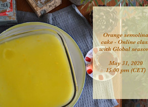 Orange Semolina Cake Cooking Workshop with Tasty Talks
