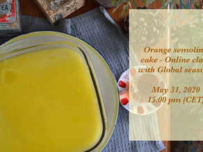 Orange Semolina Cake Cooking Workshop with Tasty Talks
