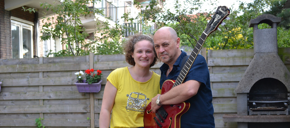 Our House concert with meal at our garden.