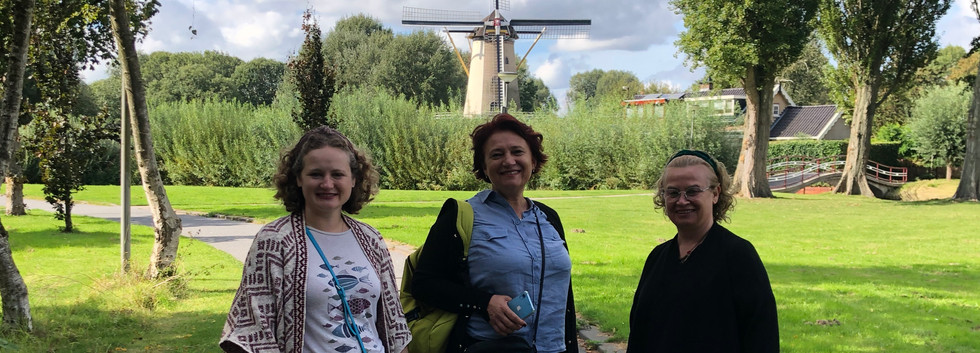 At Zuiderpark, Rotterdam with my mom and my aunt.