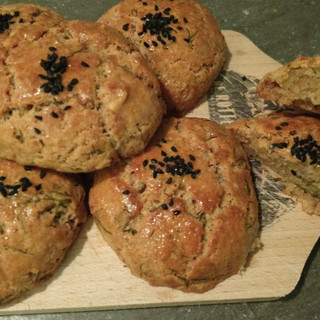 Savoury cheese cookies