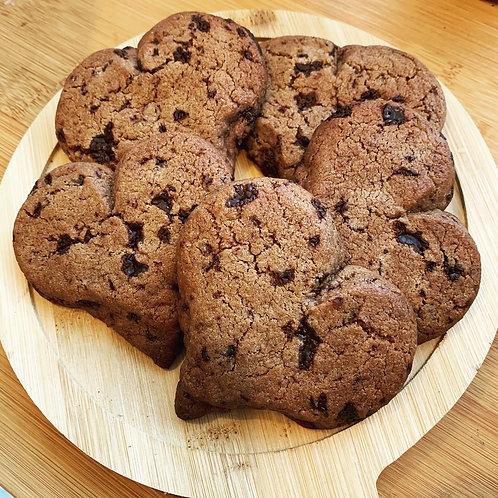 Lovingly handmade chocolate chip cookies