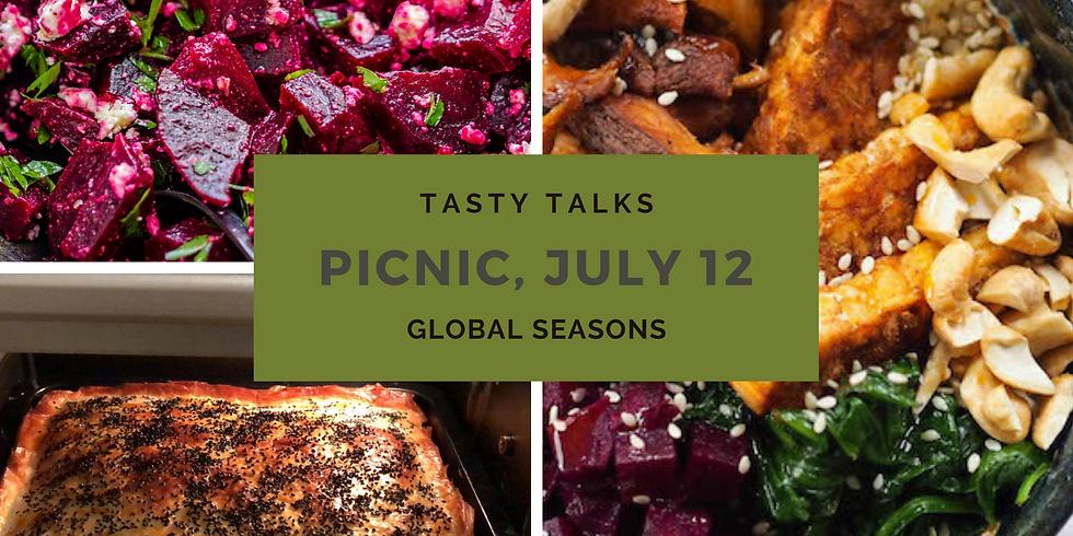 Tasty Talks & Global Seasons Picnic at Zuiderpark