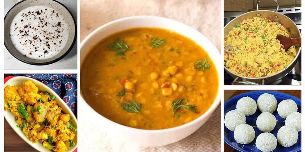 Tasty Talks X Global seasons - Indian cooking workshop