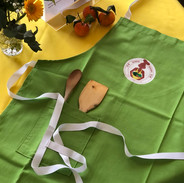 Peppermint handcrafted apron