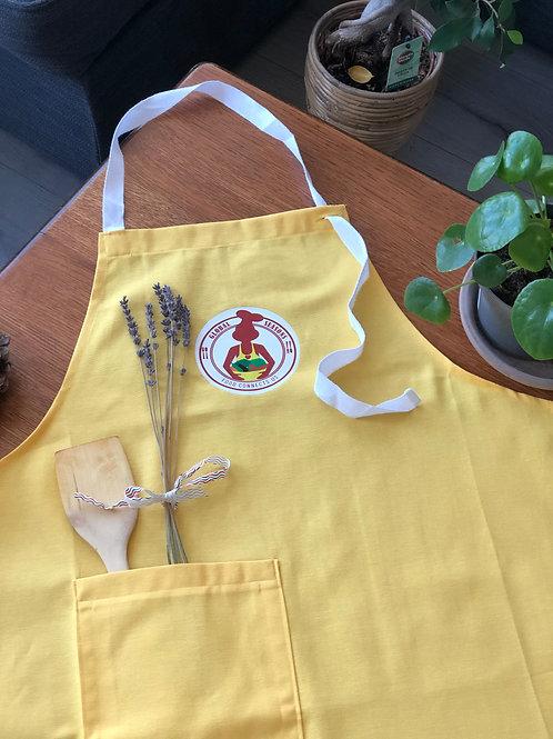 Handmade Mustard Apron