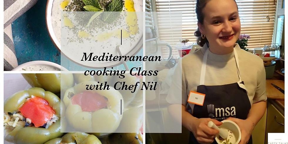 Mediterranean Cooking Class - Zoom Online