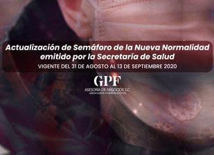 SEMÁFORO DE LA NUEVA NORMALIDAD