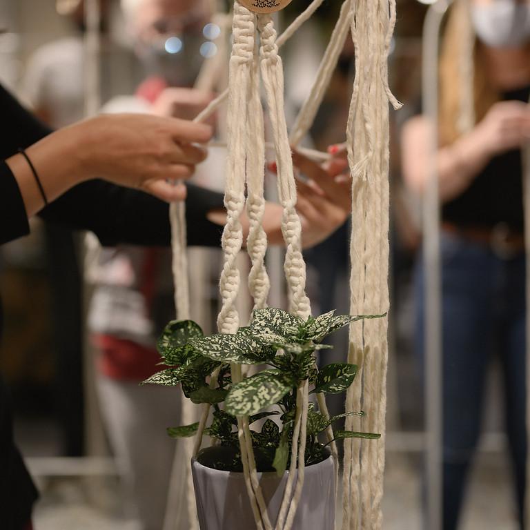 Workshop Macrame Plant Hanger - June
