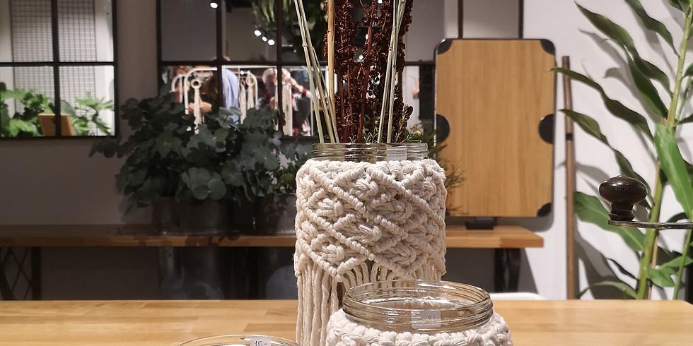 Workshop Macrame Vase - June