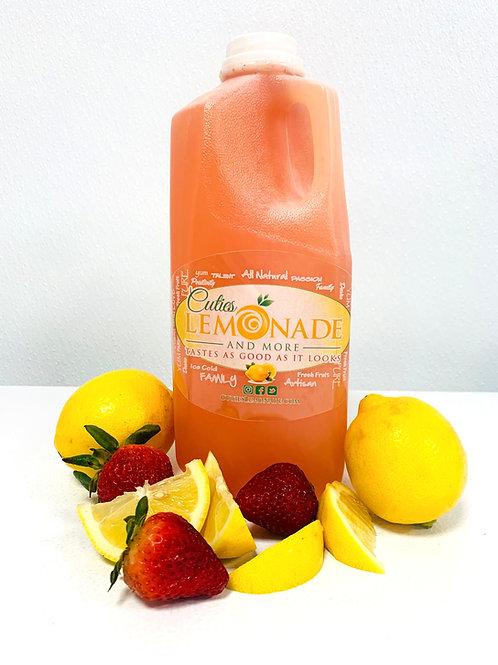 Cuties Lemonade - Strawberry Recipe - 1/2 Gallon