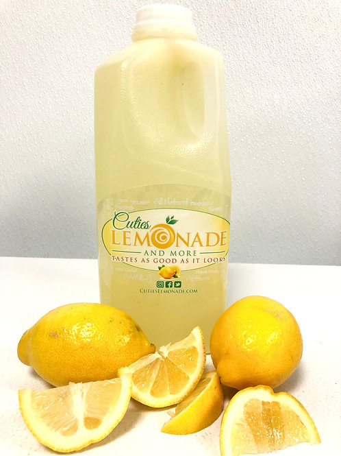 Cuties Lemonade - Classic Recipe - 1/2 Gallon