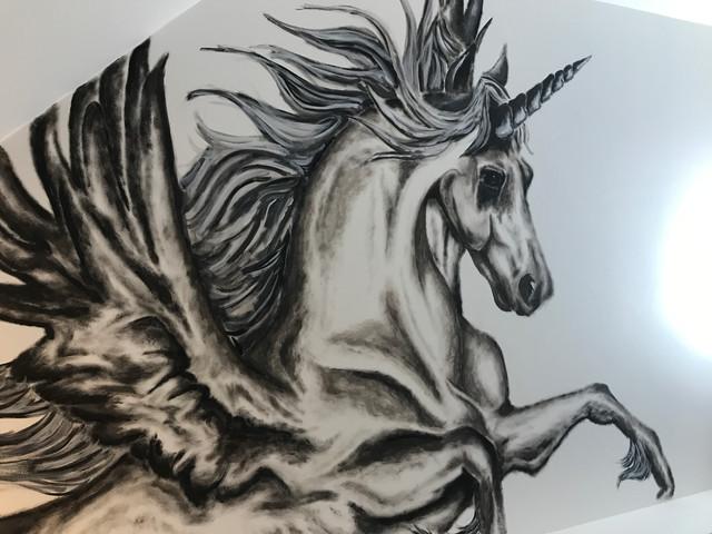 Unicorn Mural