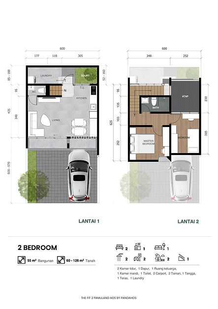 2 bedroom pandahos the fit 2 pamulang hos