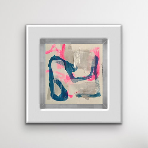 Abstract Pink and Blue
