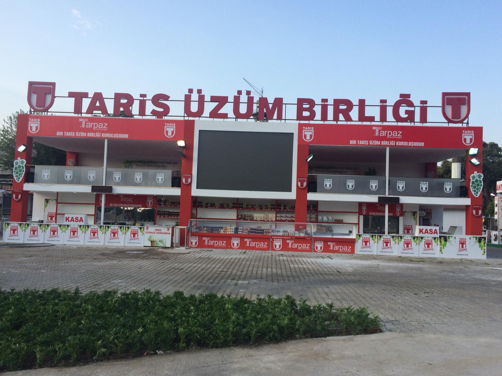 IEF FUARI -TARİŞ ÜZÜM BİRLİĞİ - TARP