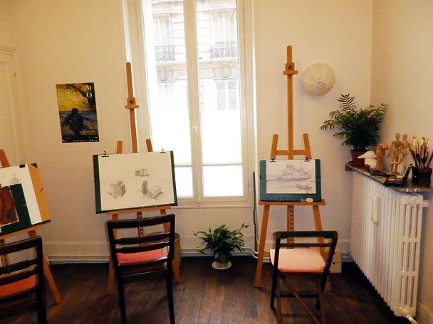Cours de dessin et d'arts-plastiques Pantin Paris