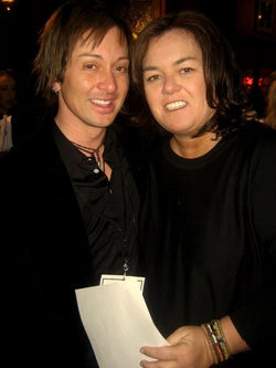 Rosie O'Donnell  and Johnny Alonso