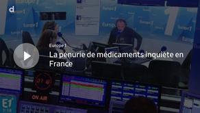 La pénurie de médicaments inquiète en France