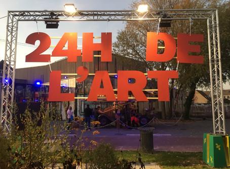 24 heures de l'art